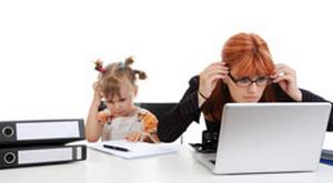 поиск работы маме